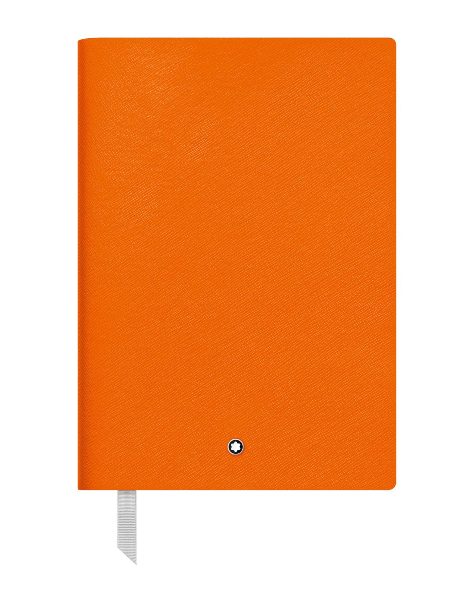 《期間限定セール中》MONTBLANC レディース ノート オレンジ 指定外繊維(紙) / 牛革(カーフ) Fine Stationery Notebook #146 Lucky Orange, lined