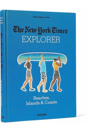 TASCHEN The New York Times Explorer: Beaches, Islands and Coasts hardcover book