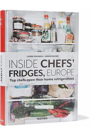 TASCHEN Inside Chef's Fridges, Europe by Carrie Solomon and Adrian Moore hardcover book