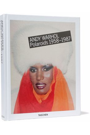 TASCHEN Andy Warhol: Polaroids 1958-1987 by Richard B. Woodard hardcover book