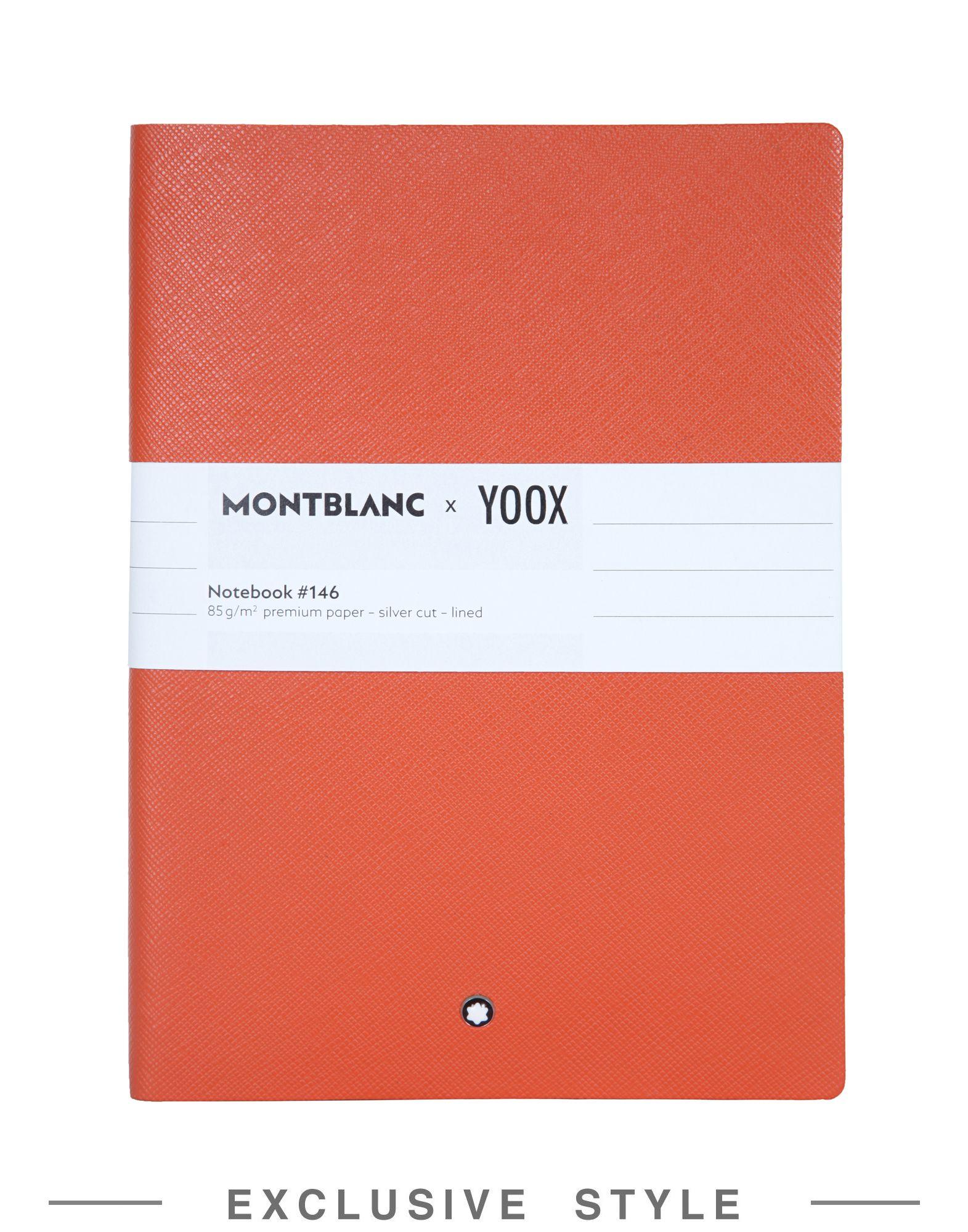 MONTBLANC X YOOX Записная книжка