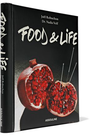 ASSOULINE Food and Life by Joël Robuchon and Dr. Nadia Volf hardcover book