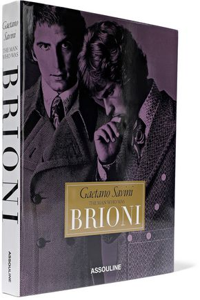 ASSOULINE Gaetano Savini: The Man Who Was Brioni by Fernando Morelli, Lea Della Cagna and Michelle Finamore hardcover book