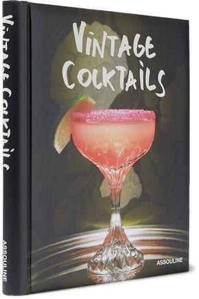 ASSOULINE Vintage Cocktails hardcover book