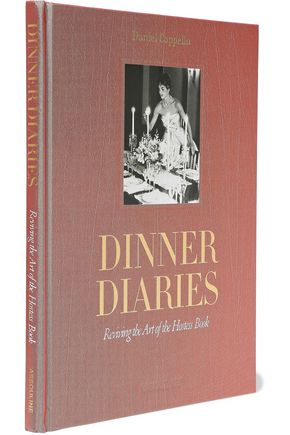 ASSOULINE Dinner Diaries: Reviving the Art of the Hostess Book by Daniel Cappello
