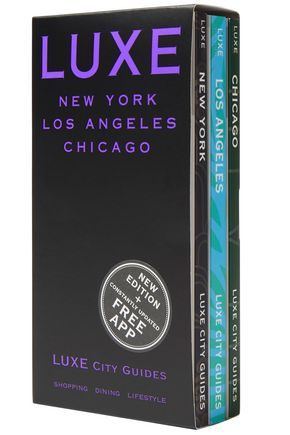 LUXE CITY GUIDES Luxe City Guides set of three paperback books