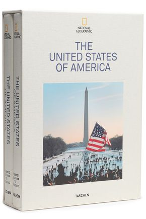 TASCHEN Set of two National Geographic: The United States of America hardcover books