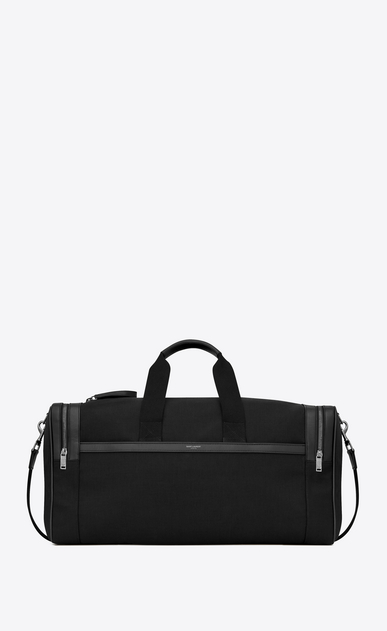 SAINT LAURENT Travel Man City gym bag in canvas a_V4