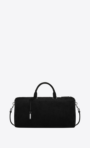 SAINT LAURENT Travel Man Andy duffle bag in corduroy a_V4