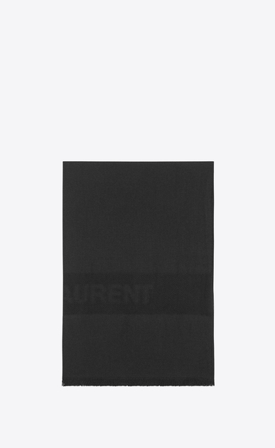 SAINT LAURENT Rectangular Scarf Woman saint laurent jacquard stole a_V4