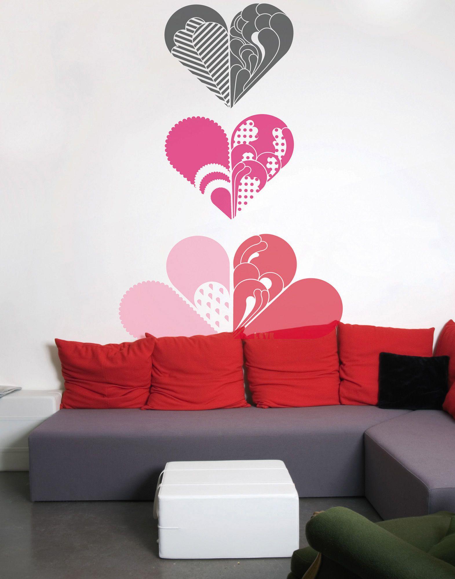 YOOX.COM(ユークス)《セール開催中》DOMESTIC Unisex デコレーション (-) ビニール Love pink