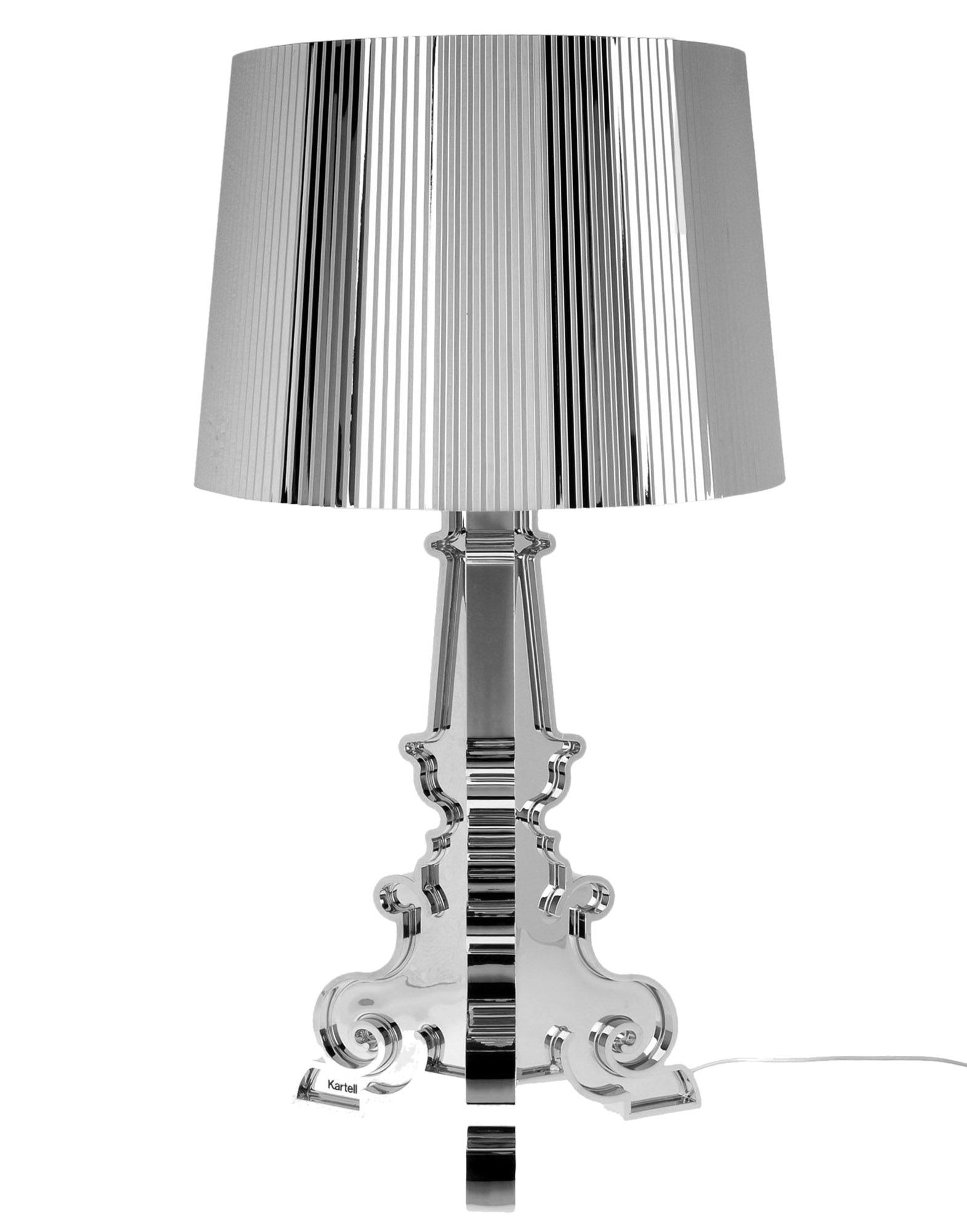 KARTELL Настольная лампа led warm bedroom bedside lamp simple modern living room aisle balcony european creative crystal double wall lamp for bedroom