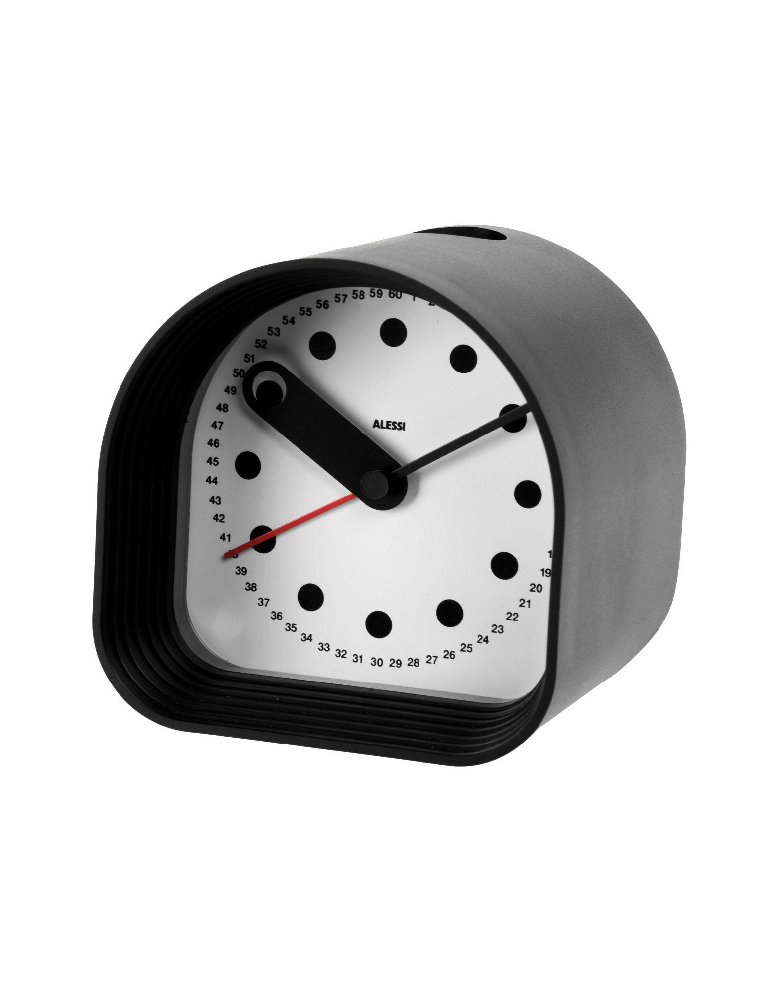 Alessi Table Clocks
