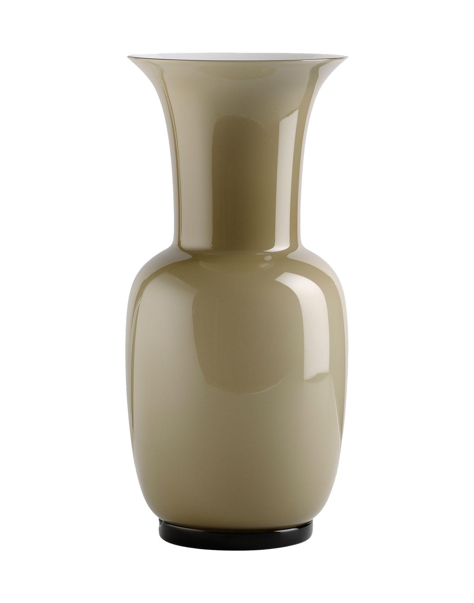 《セール開催中》VENINI Unisex ベース ライトグレー 吹きガラス Opalini
