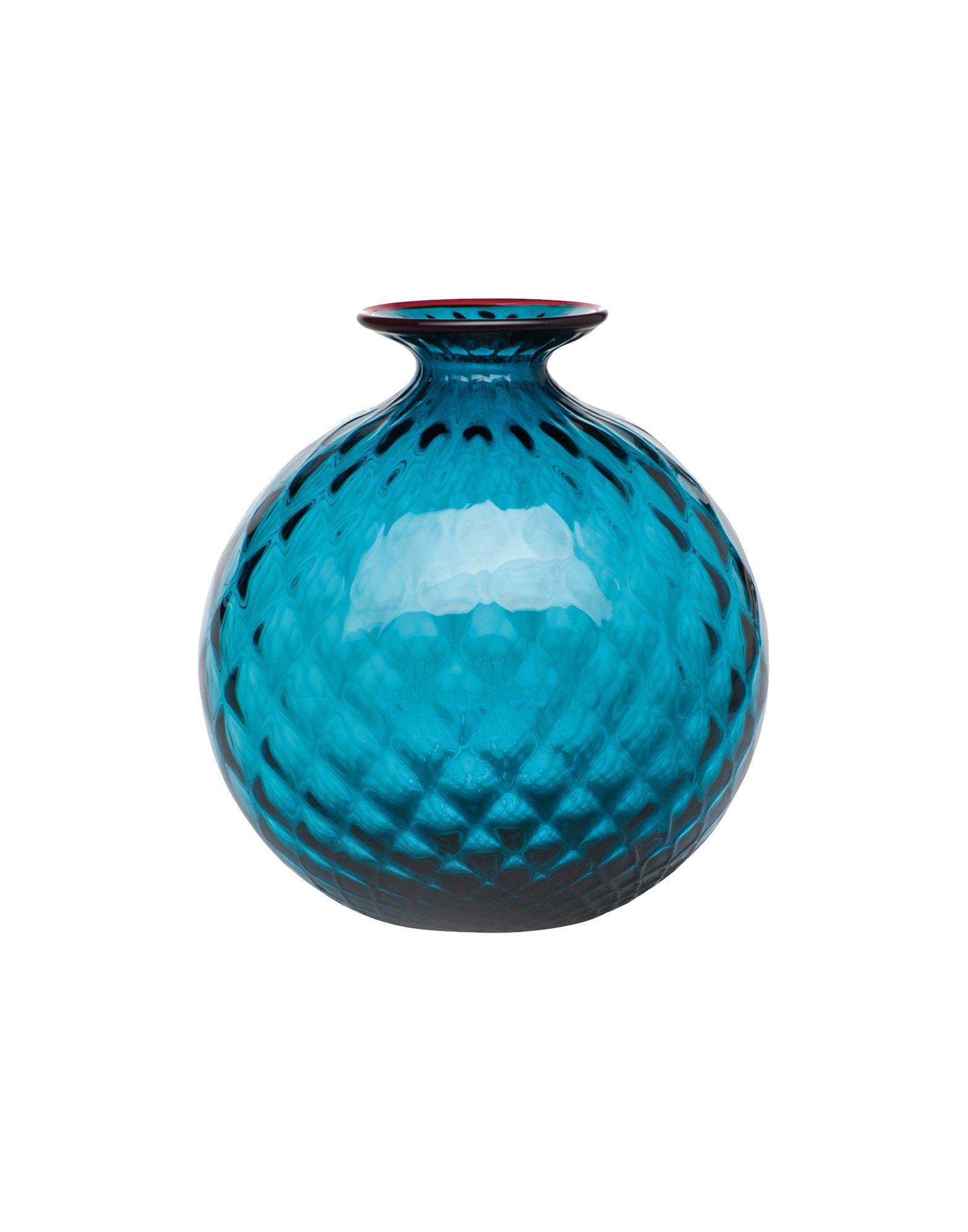 《送料無料》VENINI Unisex ベース ディープジェード 吹きガラス Monofiori Balloton
