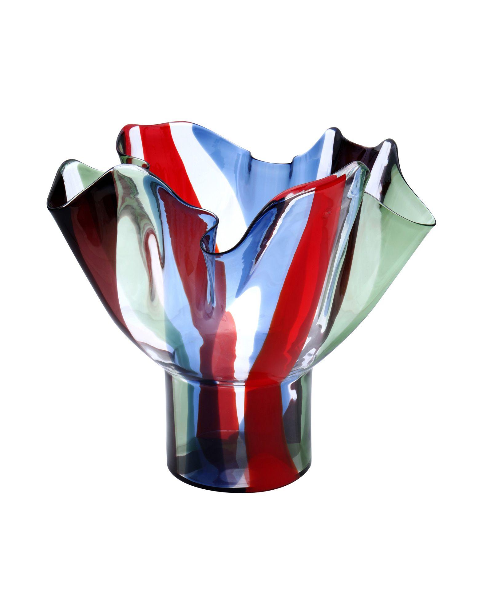 VENINI Ваза вазы pavone ваза гибискус
