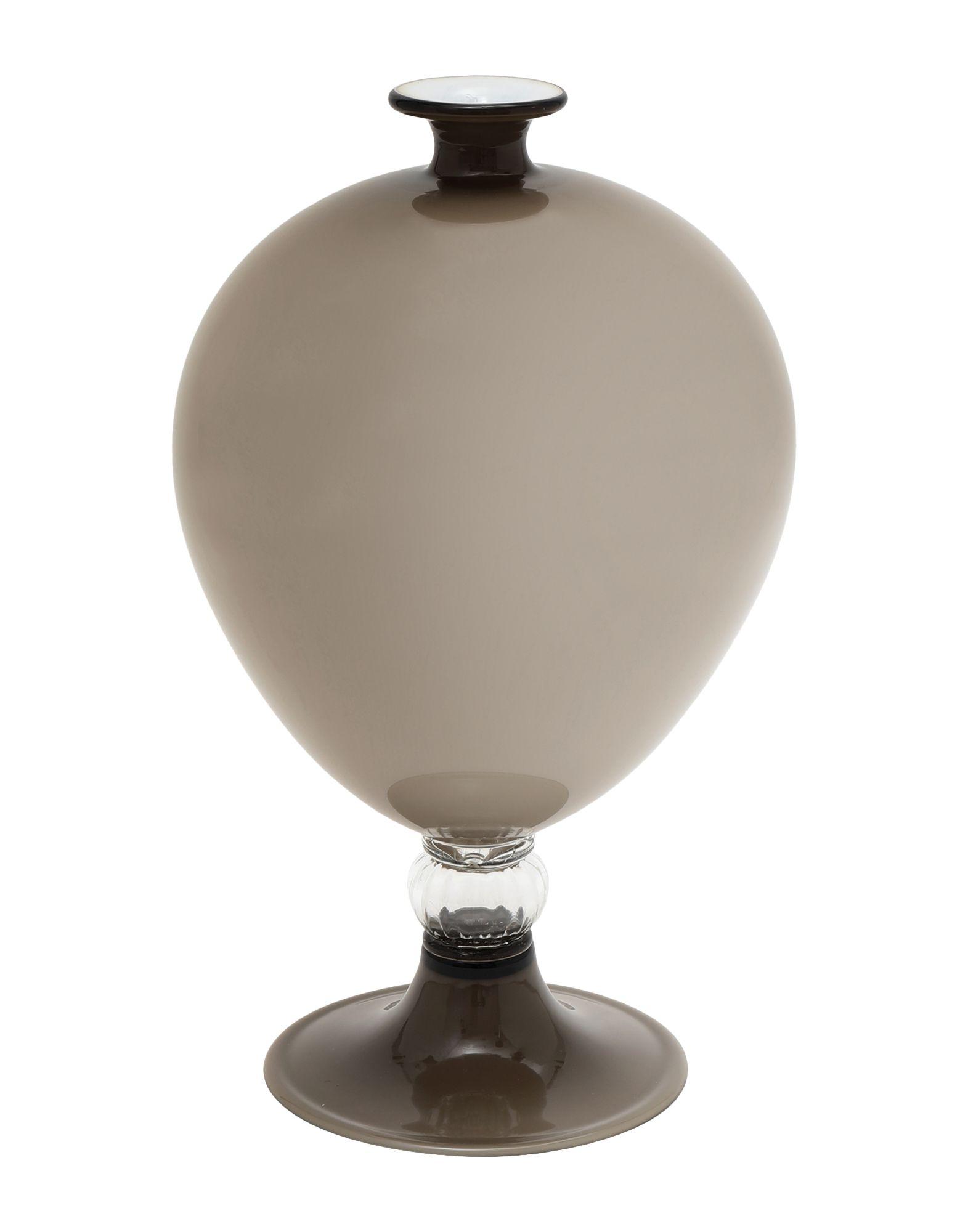 《セール開催中》VENINI Unisex ベース ライトグレー 吹きガラス Veronese Opalino