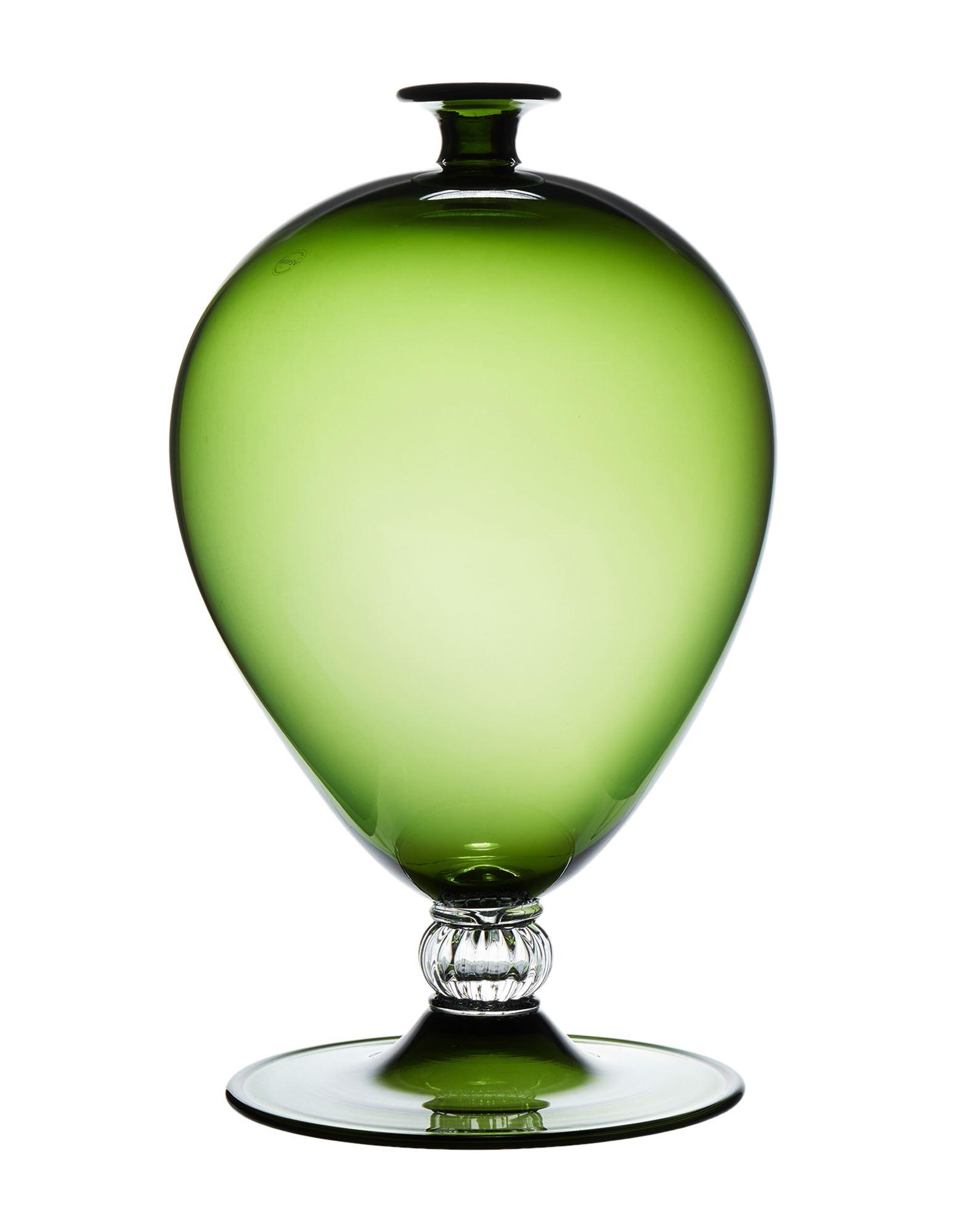 《セール開催中》VENINI Unisex ベース ミリタリーグリーン 吹きガラス VERONESE