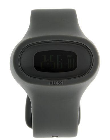 ALESSI レディース 腕時計 グレー ポリウレタン / ガラス