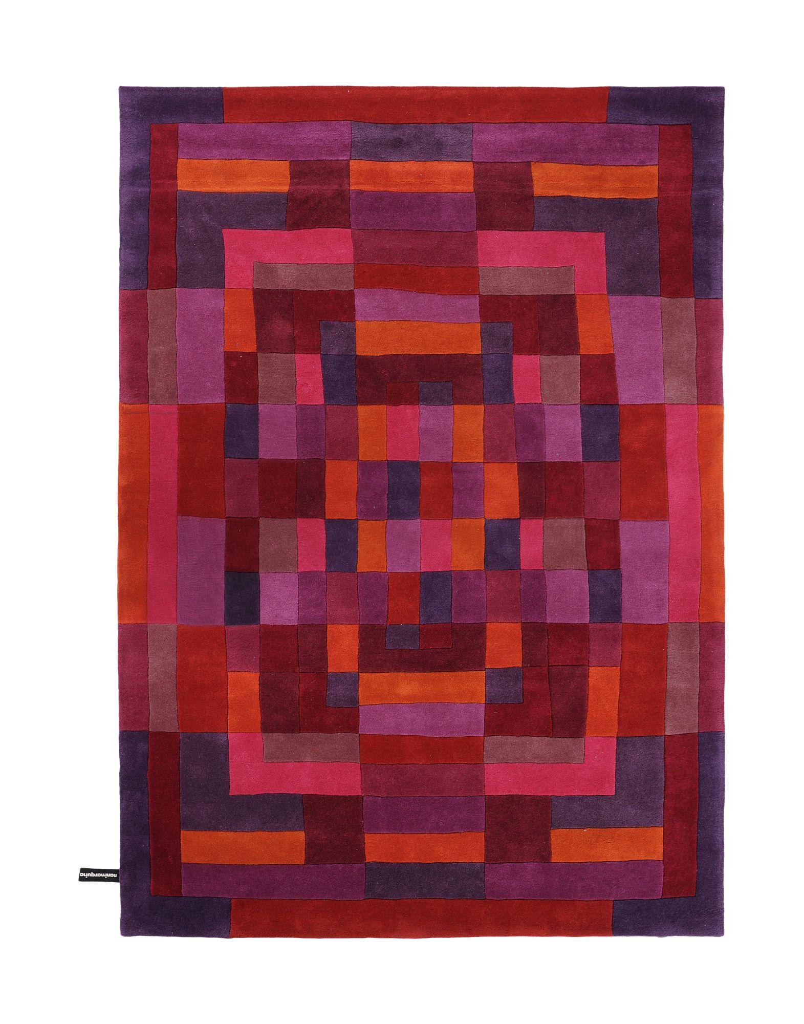 NANIMARQUINA Unisex Teppich Farbe Purpur Größe 1