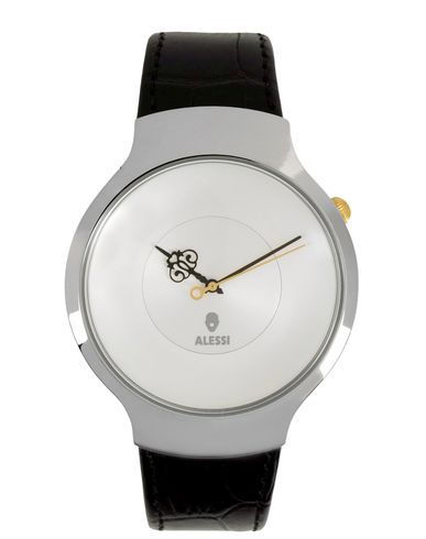 ALESSI レディース 腕時計 ホワイト ステンレススチール / 革
