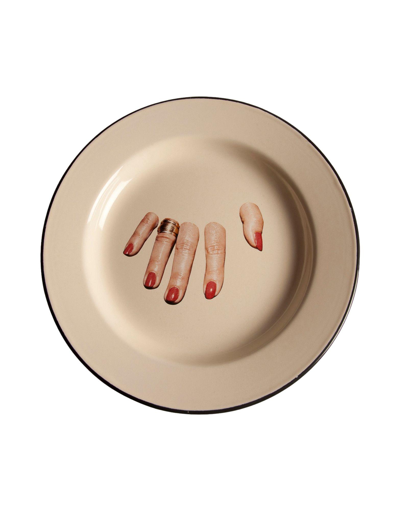 SELETTI WEARS TOILETPAPER Блюдо seletti wears toiletpaper декоративная тарелка
