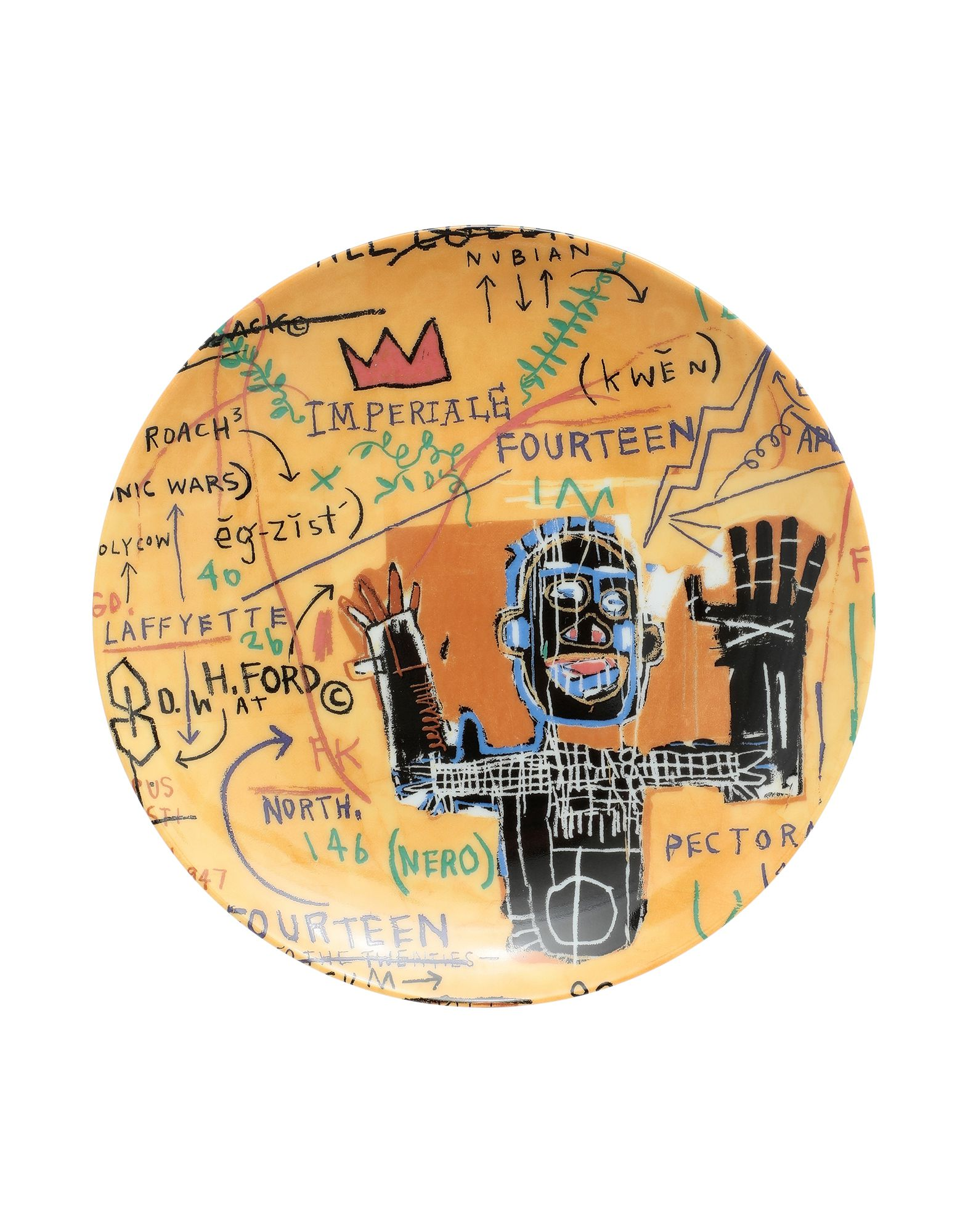 LIGNE BLANCHE Декоративная тарелка чарльз фрейс изучает новый мир декоративная тарелка фарфор деколь золочение hamilton collection сша 1989 год
