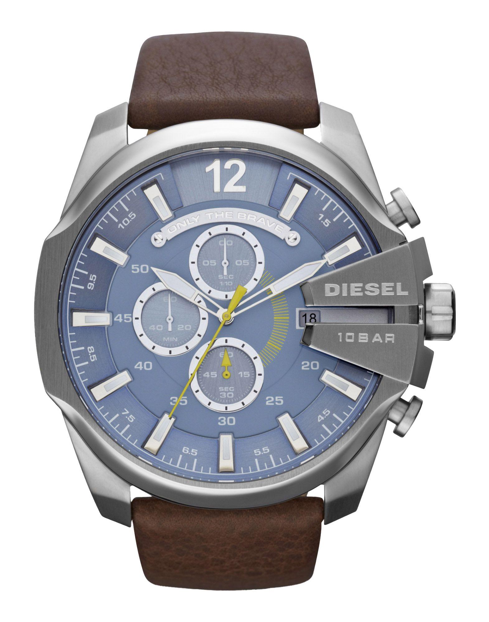メンズ ディ-ゼル 腕時計 ブルーグレー
