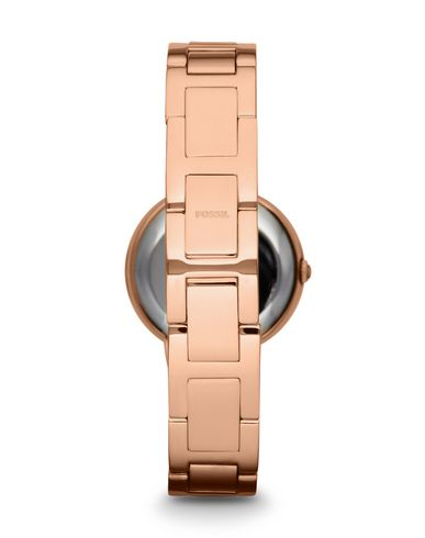 FOSSIL Damen Armbanduhr Hellrosa Edelstahl