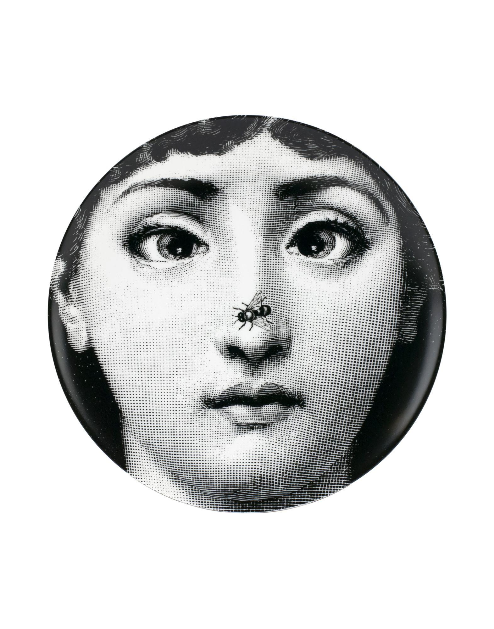 FORNASETTI Декоративная тарелка подушка с портретом лины пьеро форназетти necklace