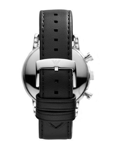 EMPORIO ARMANI Herren Armbanduhr Schwarz Edelstahl