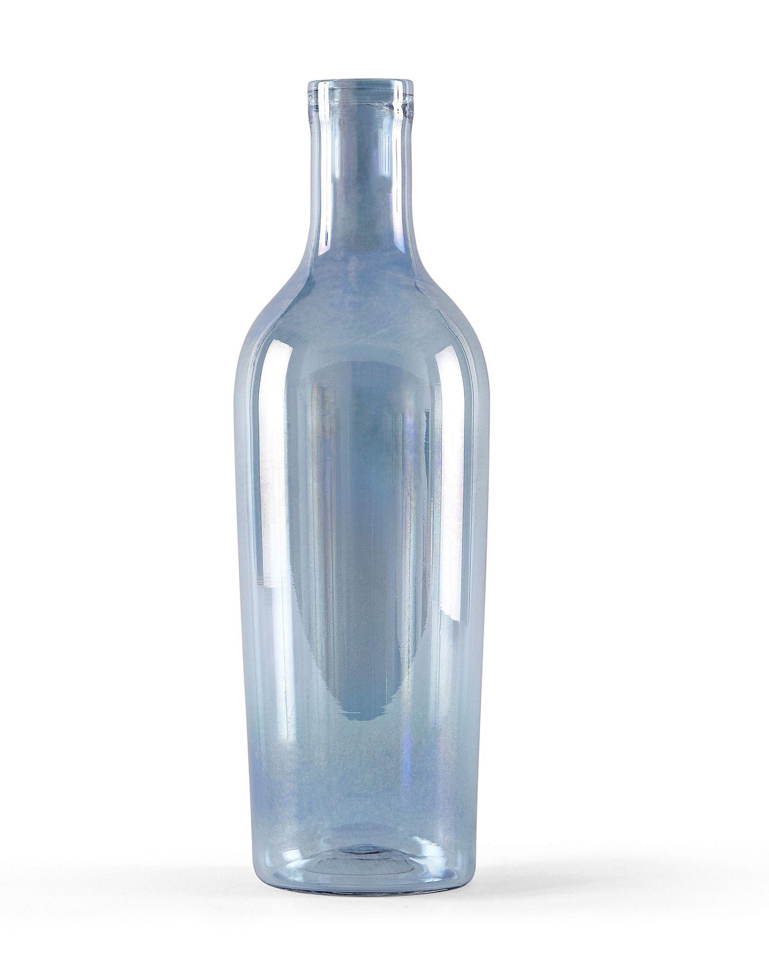 《送料無料》INCIPIT Unisex キャンドルスタンド ブルー ガラス Barlume