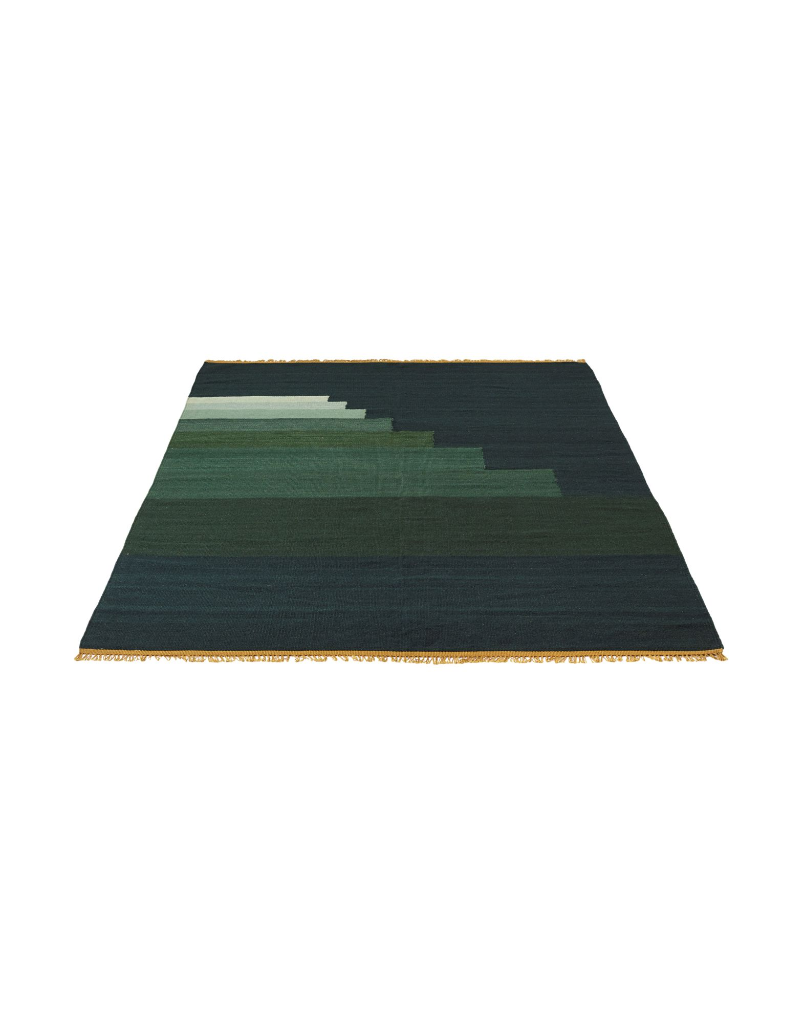 &TRADITION Unisex Teppich Farbe Dunkelgrün Größe 1