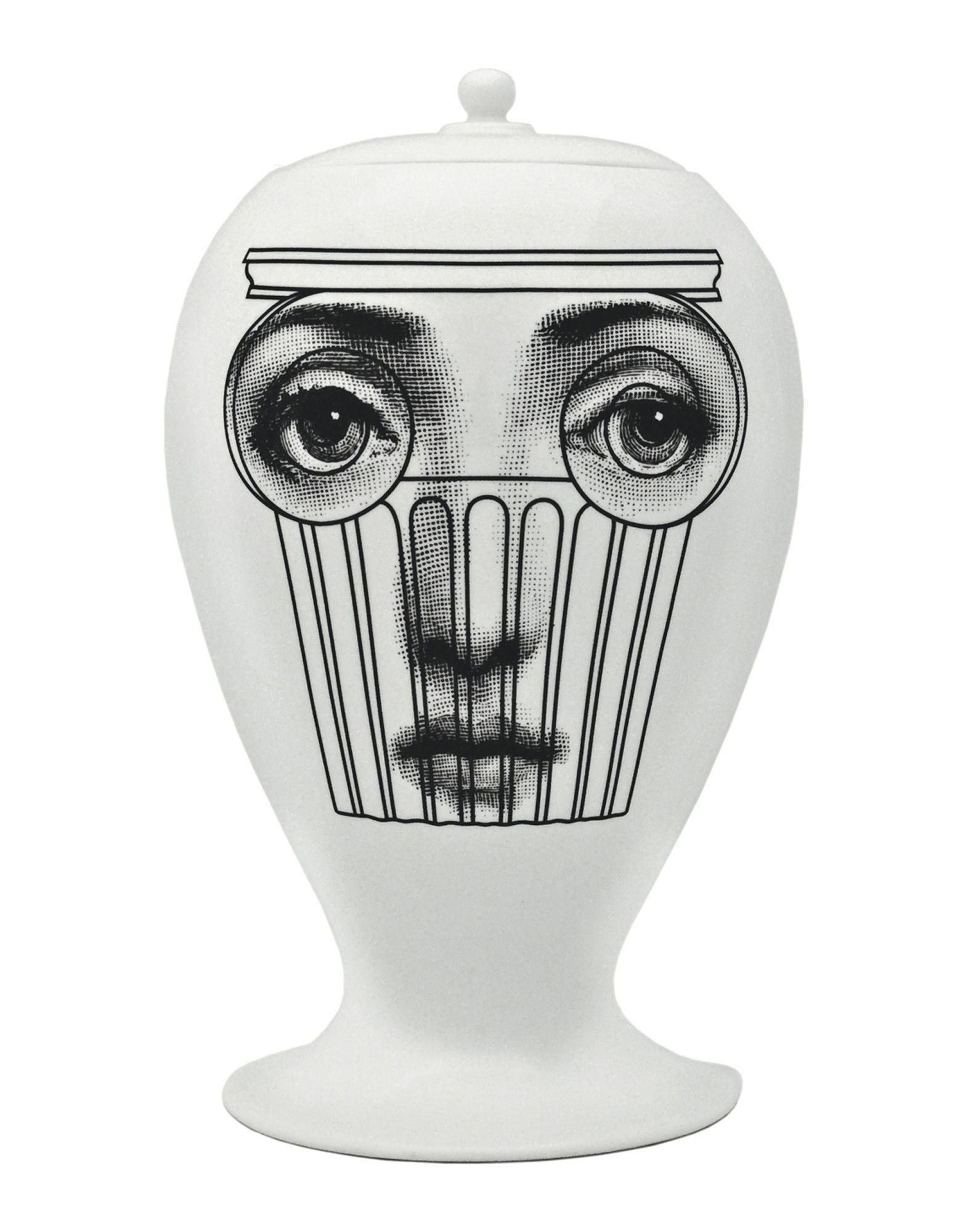 FORNASETTI Ваза ложка для йогурта пьеро форназетти silver faces