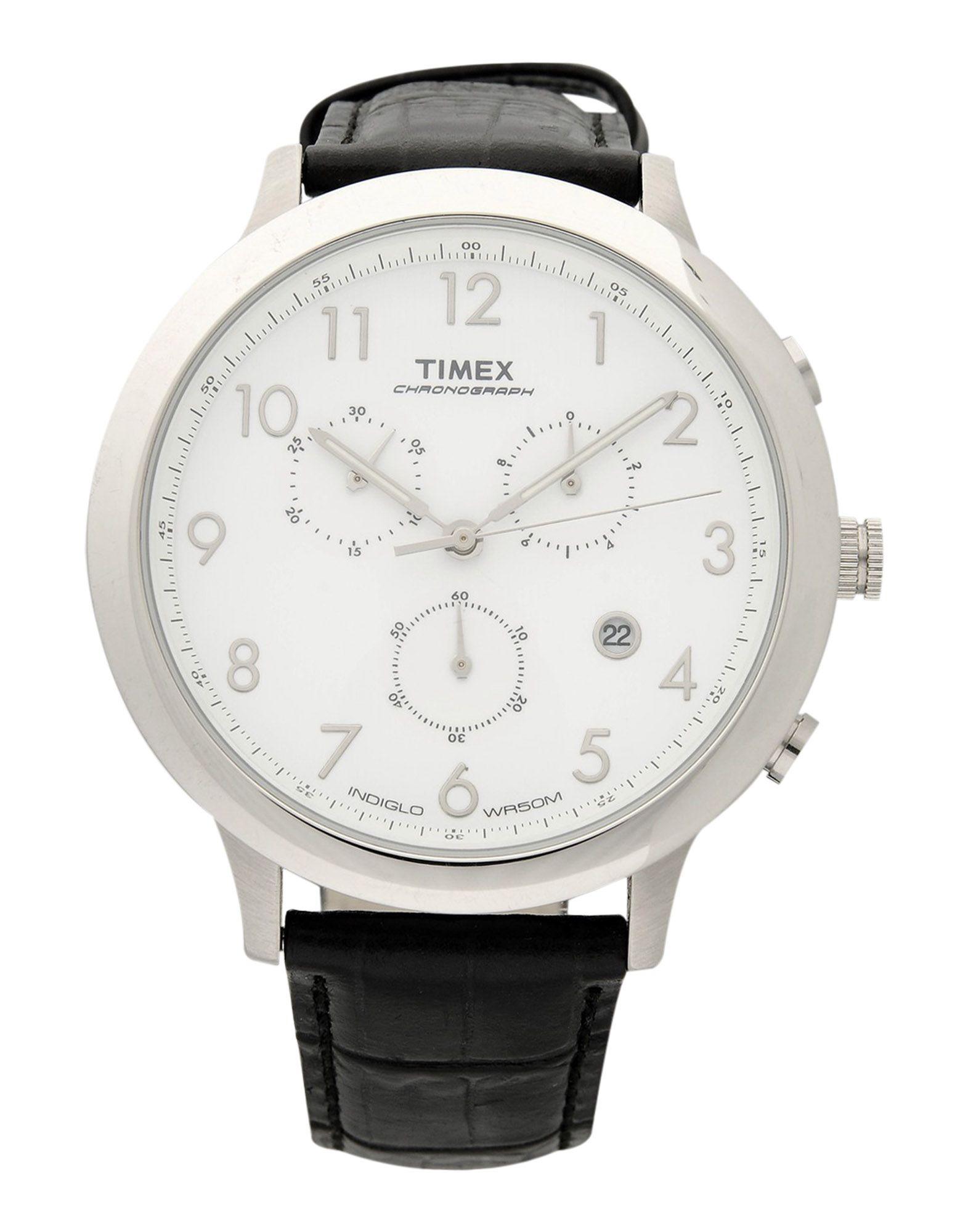 《期間限定セール開催中!》TIMEX Unisex 腕時計 ホワイト ステンレススチール
