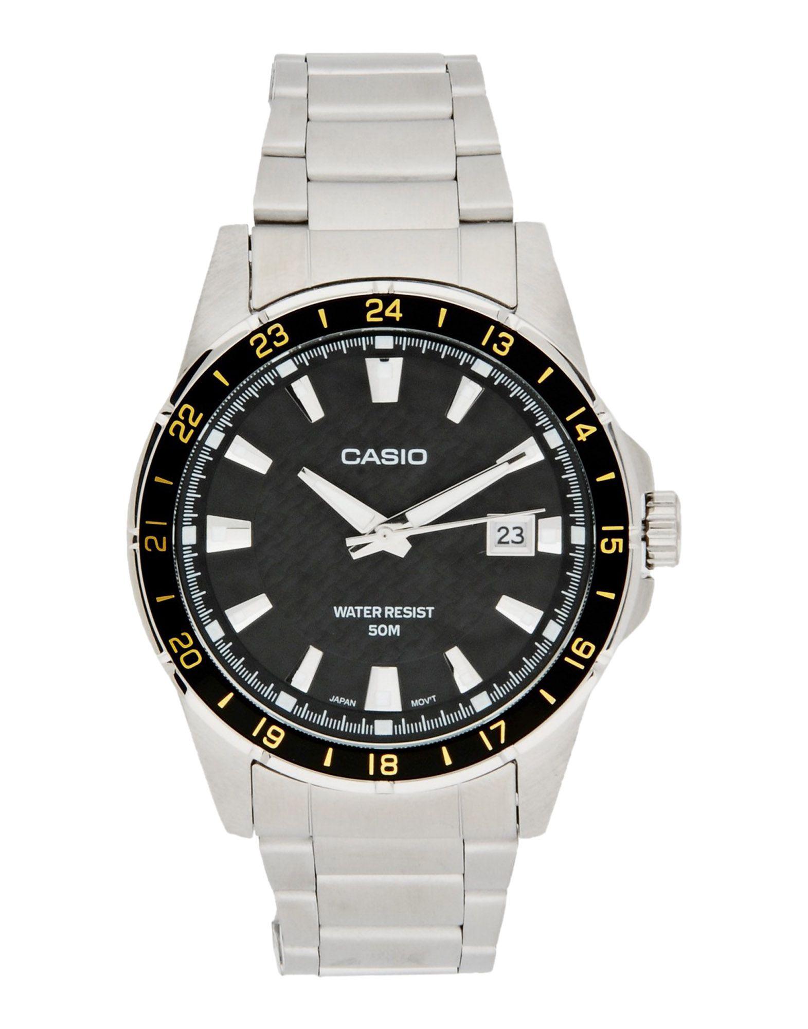 CASIO メンズ 腕時計 ブラック ステンレススチール MTP-1290D-1A2 COLLECTION