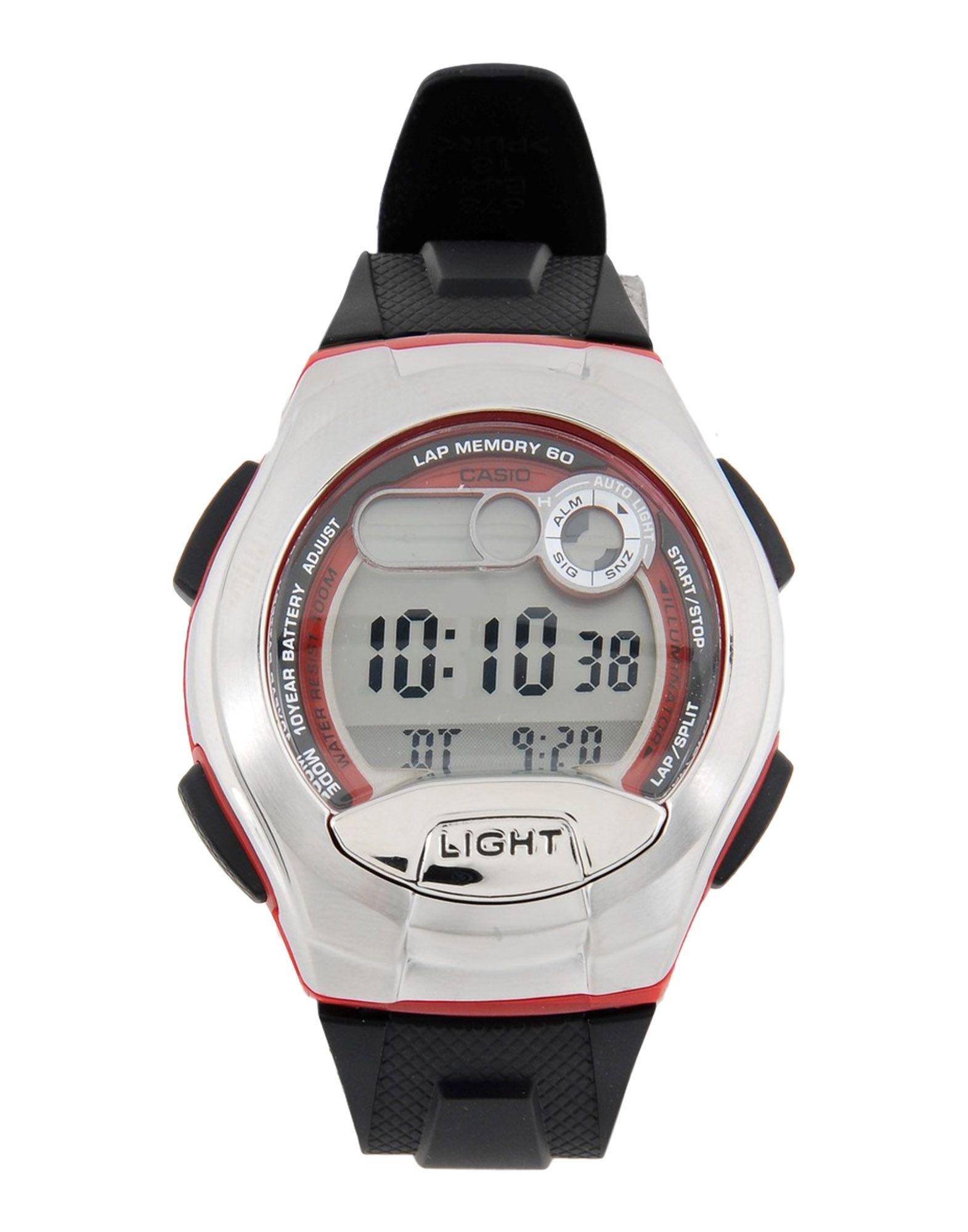 CASIO Herren Armbanduhr Farbe Rot Größe 1