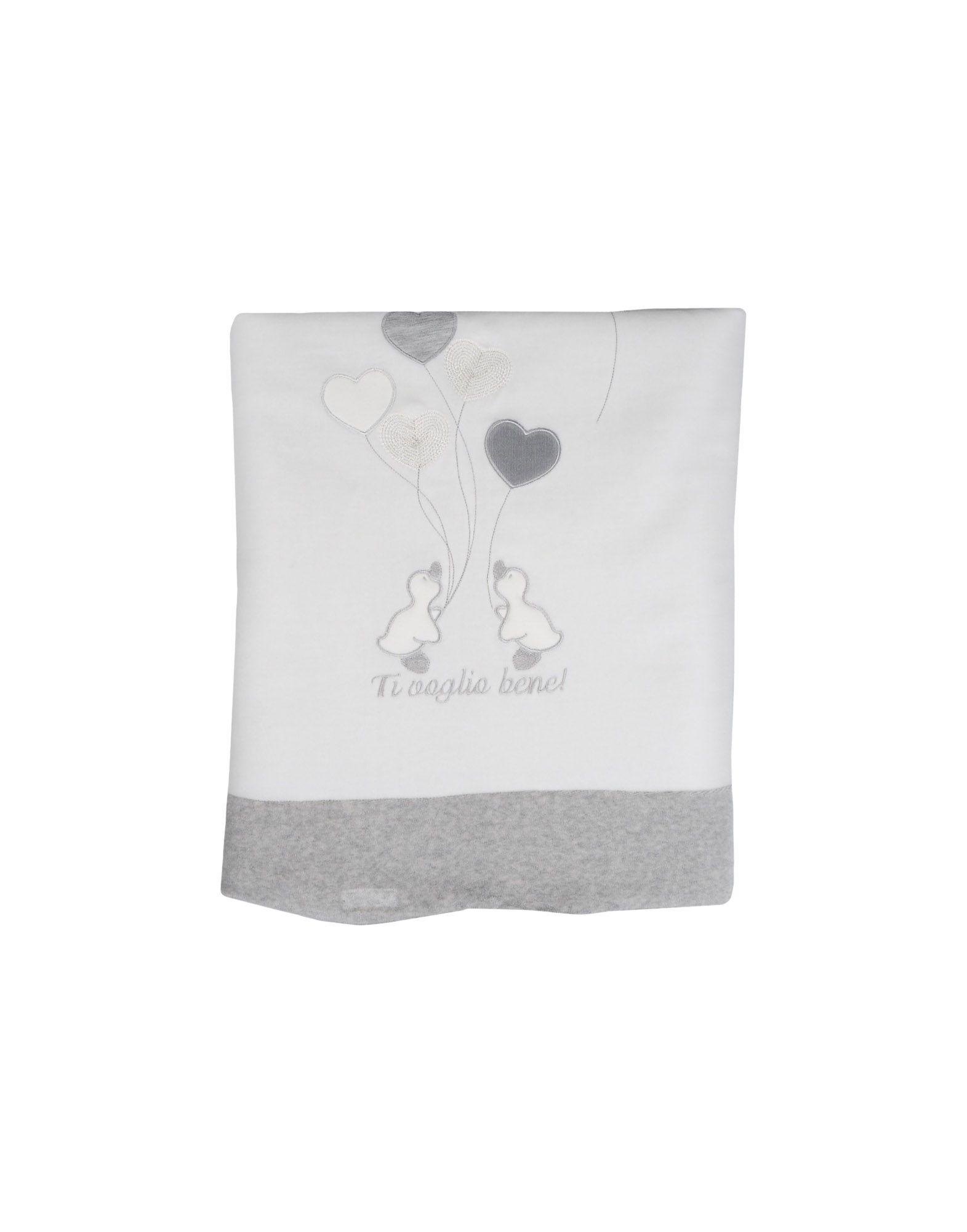 NINETTA Unisex Wolldecke Farbe Weiß Größe 1