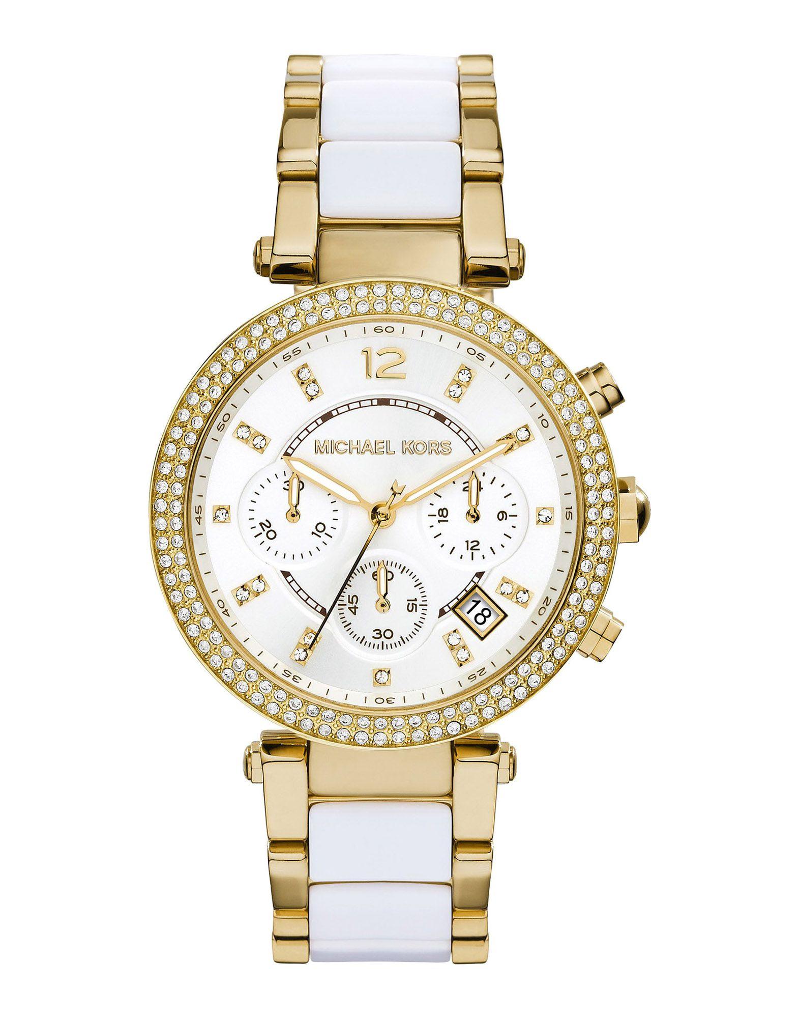 レディース マイケル コース 腕時計 ホワイト