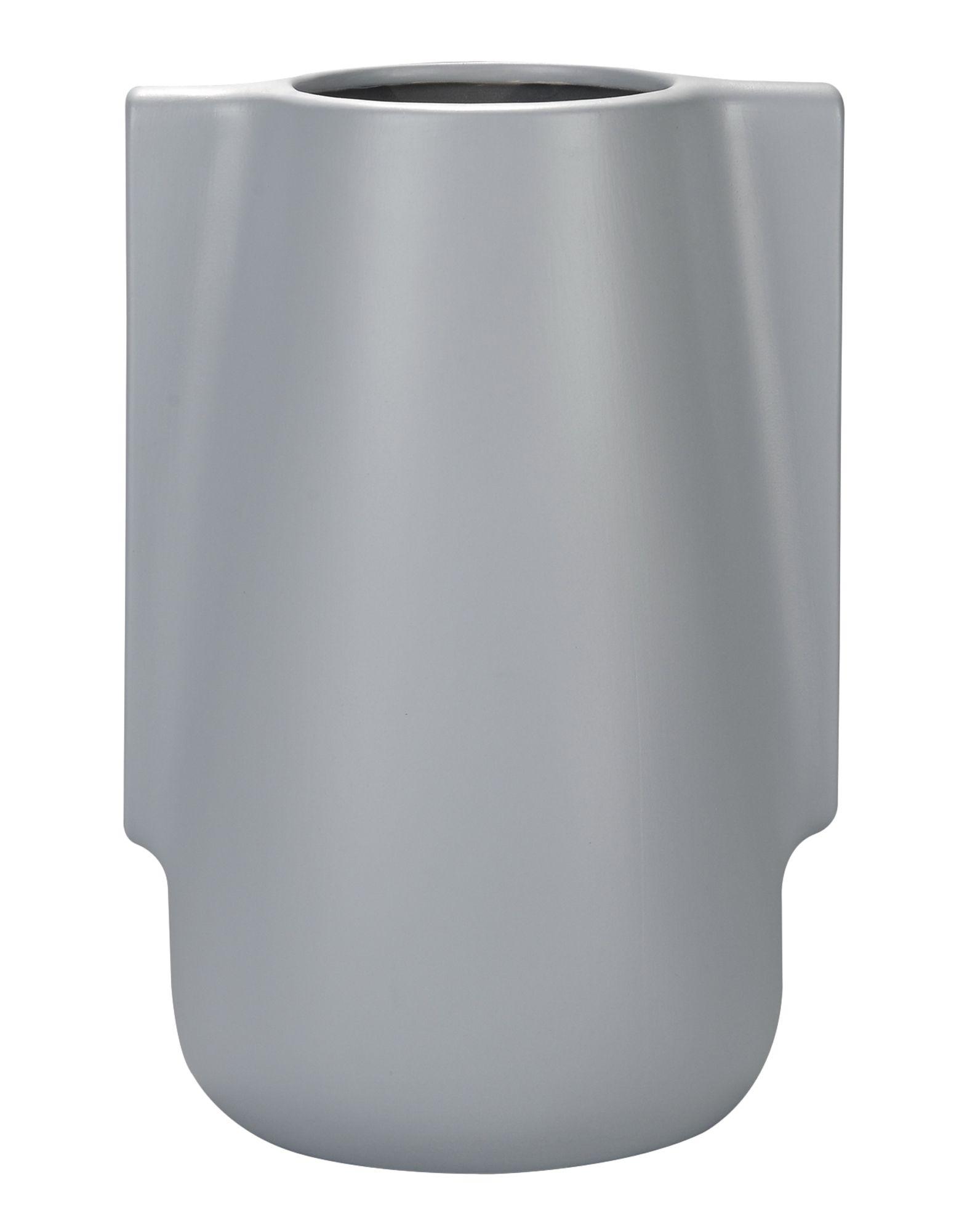 INCIPIT Unisex Vase Farbe Grau Größe 1