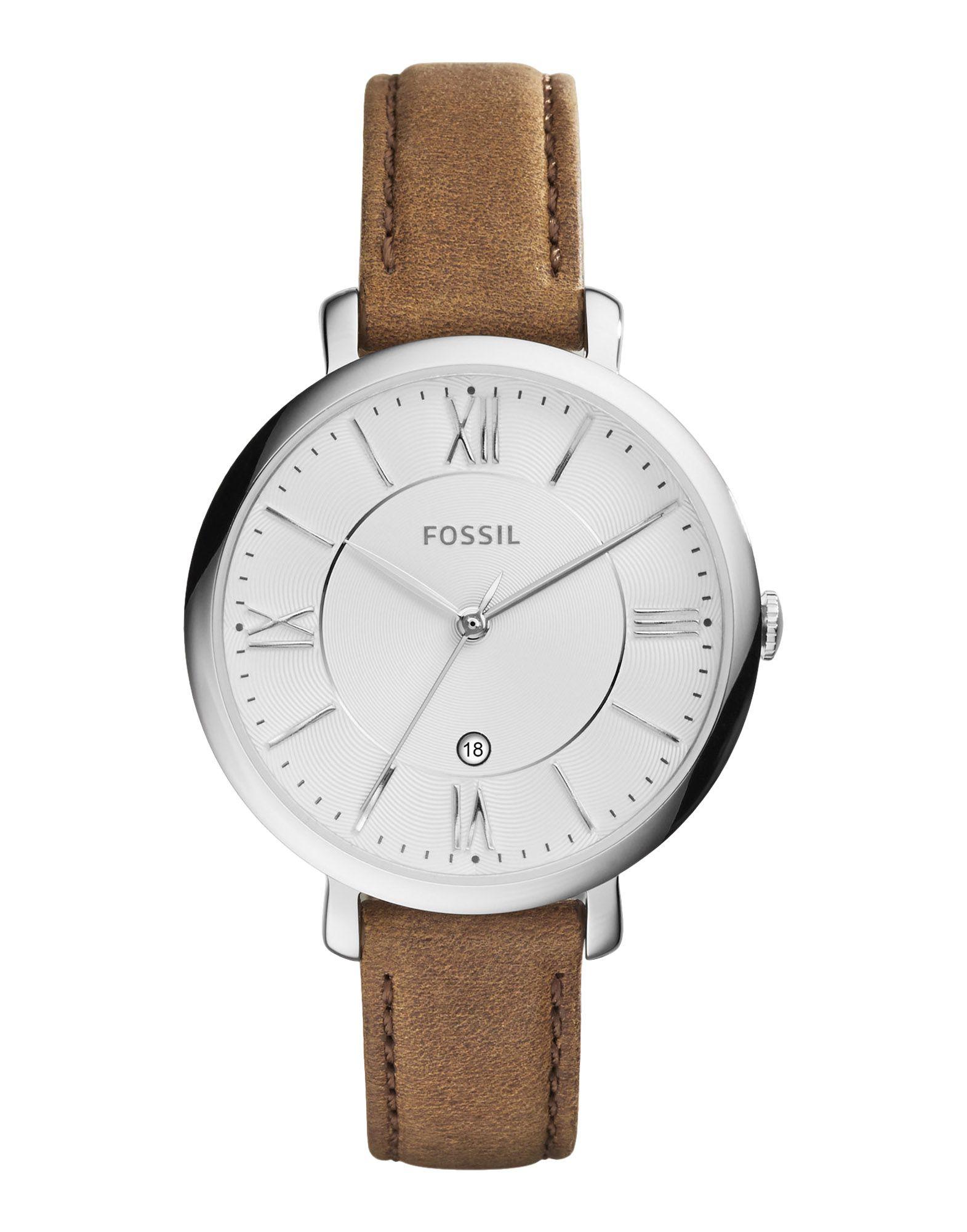 レディース FOSSIL 腕時計 ホワイト