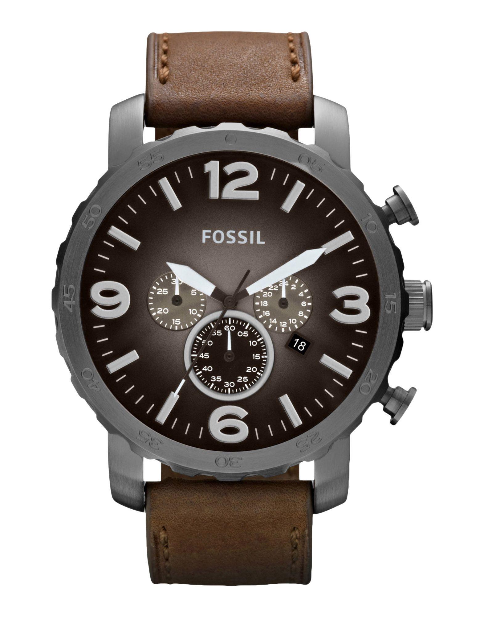 メンズ FOSSIL 腕時計 グレー
