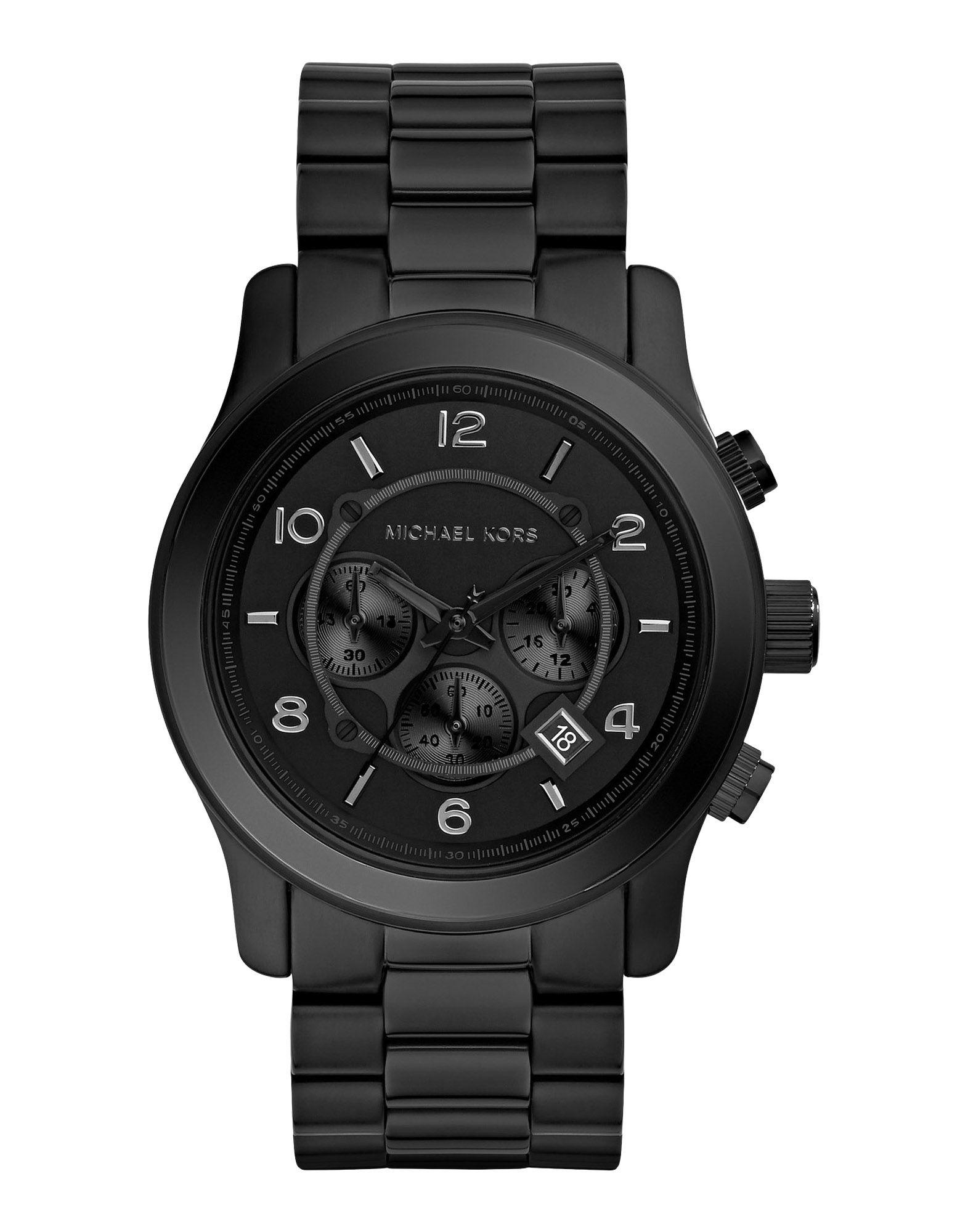 メンズ マイケル コース 腕時計 ブラック