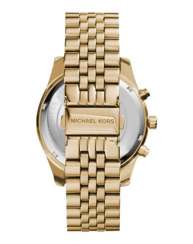 Michael kors часы мужские золотые