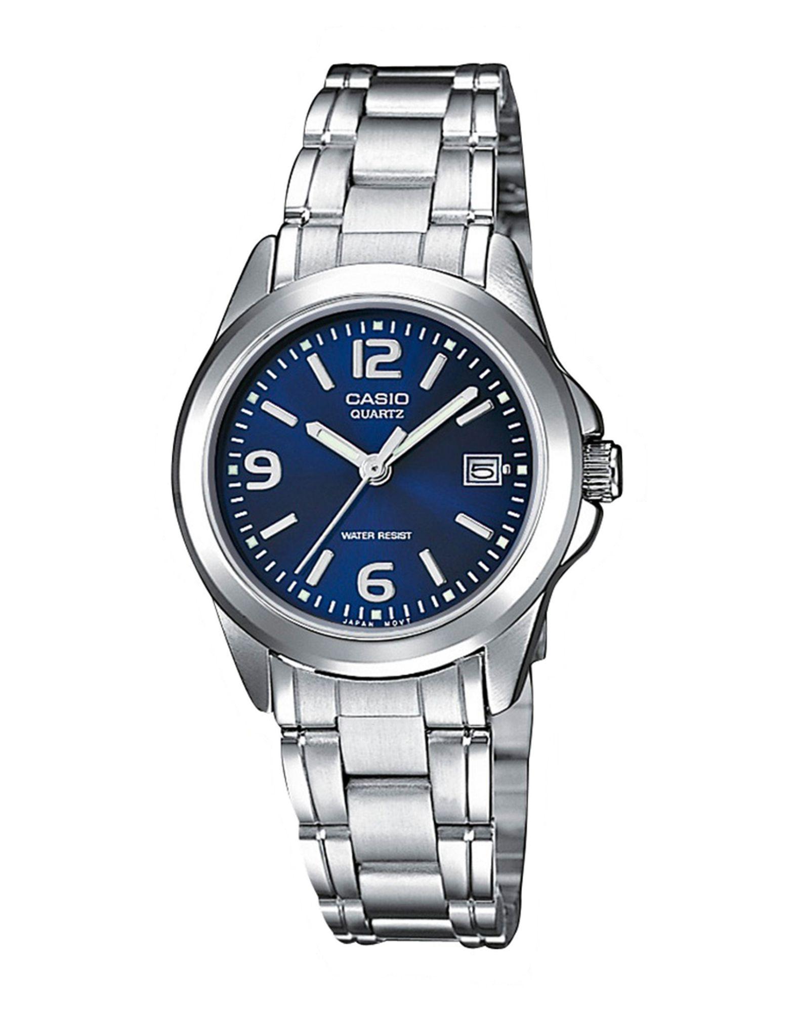 CASIO Herren Armbanduhr Farbe Blau Größe 1