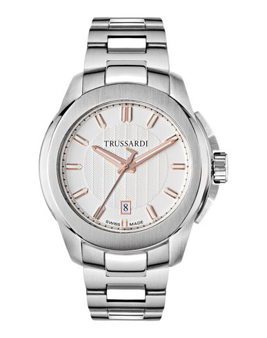 TRUSSARDI レディース 腕時計 アイボリー ステンレススチール