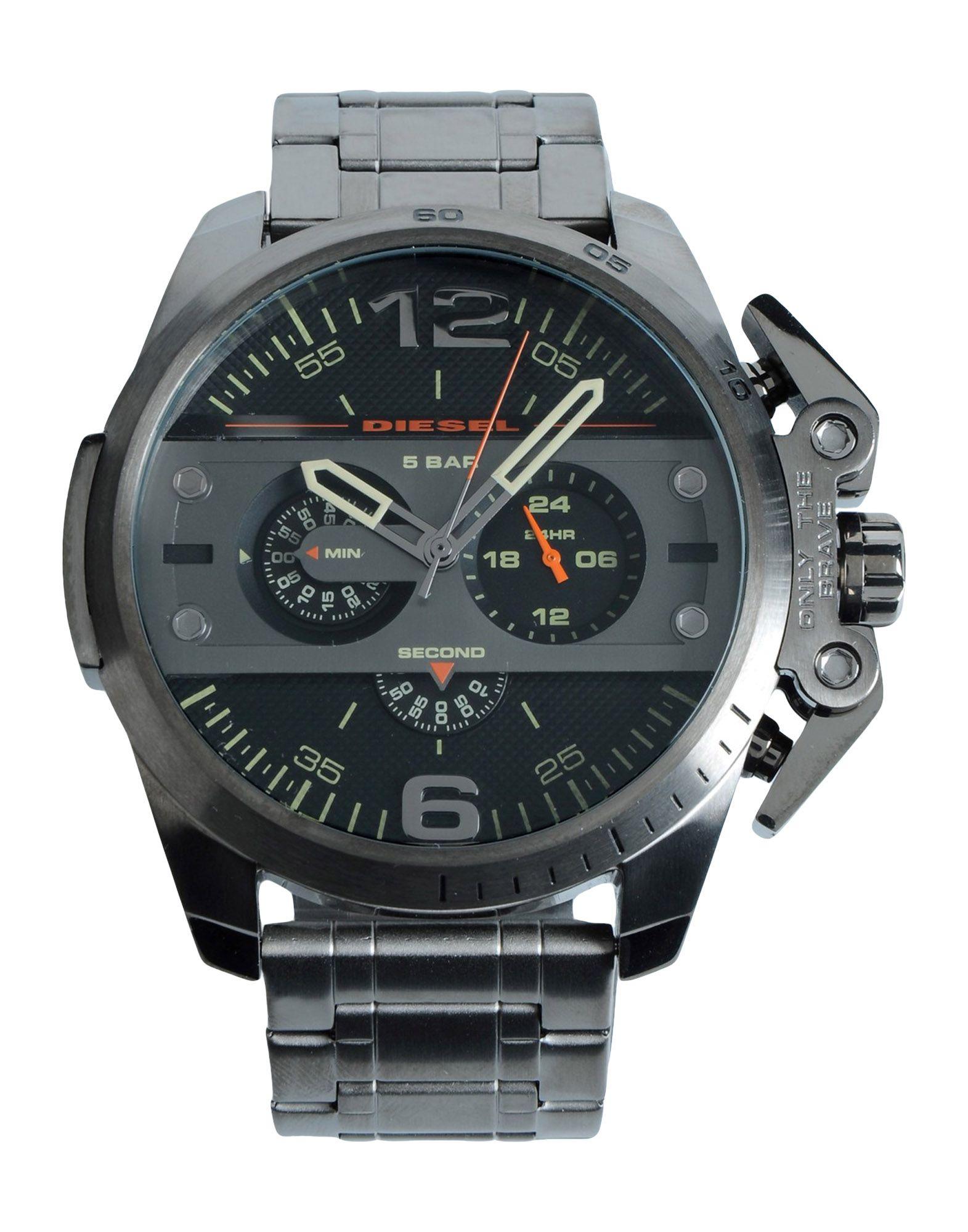 メンズ ディ-ゼル 腕時計 ブラック