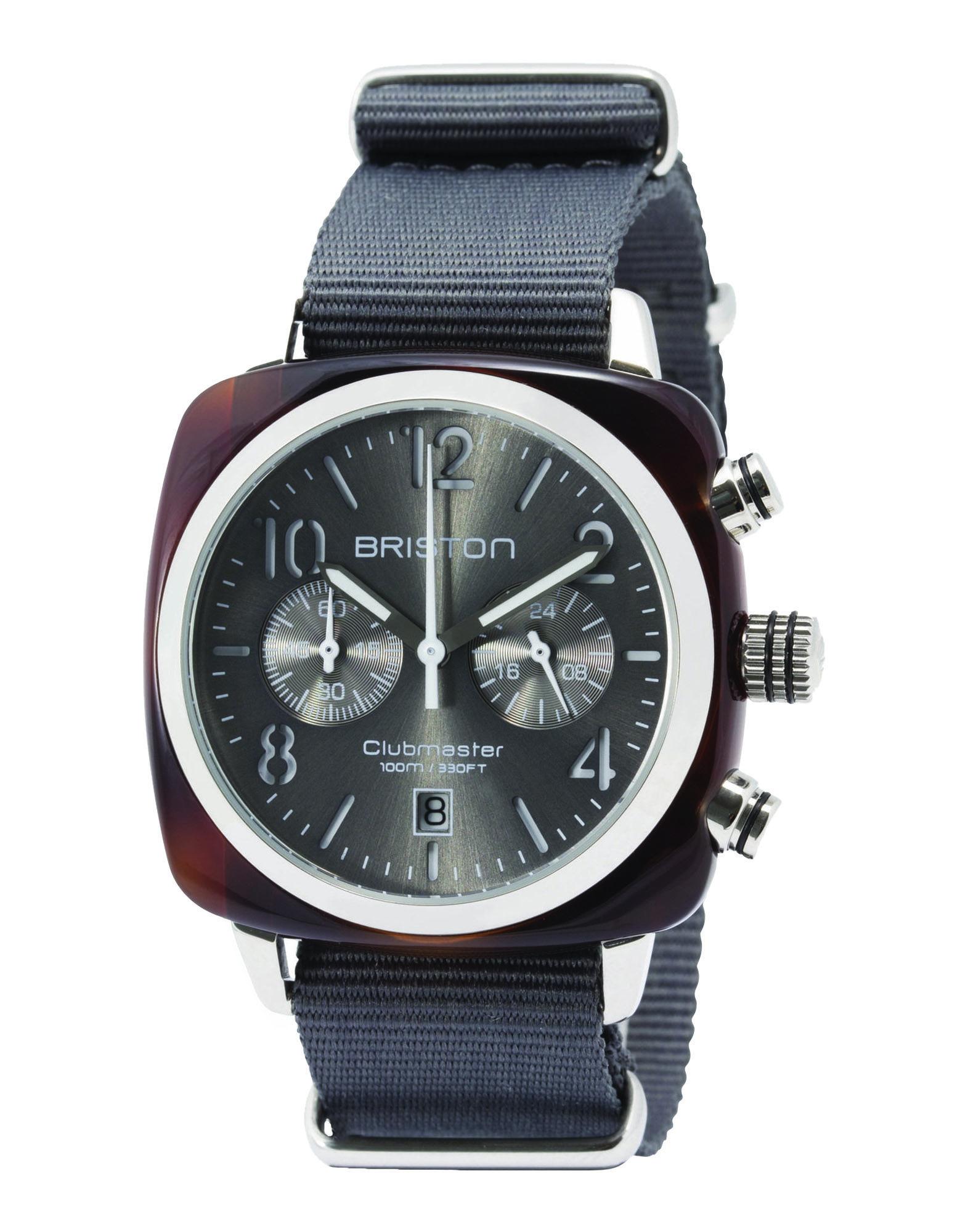メンズ BRISTON 腕時計 グレー