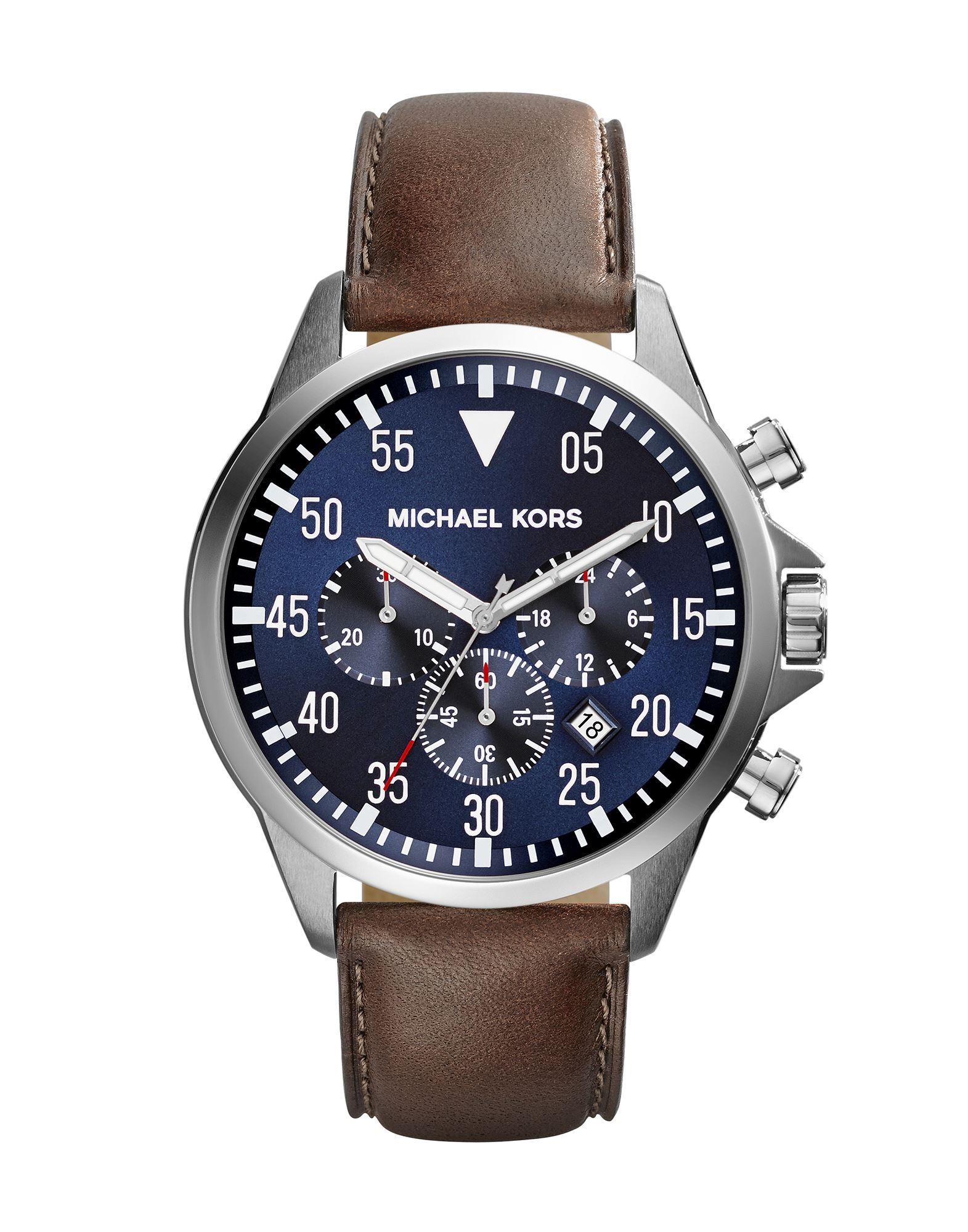 メンズ マイケル コース 腕時計 ブルー