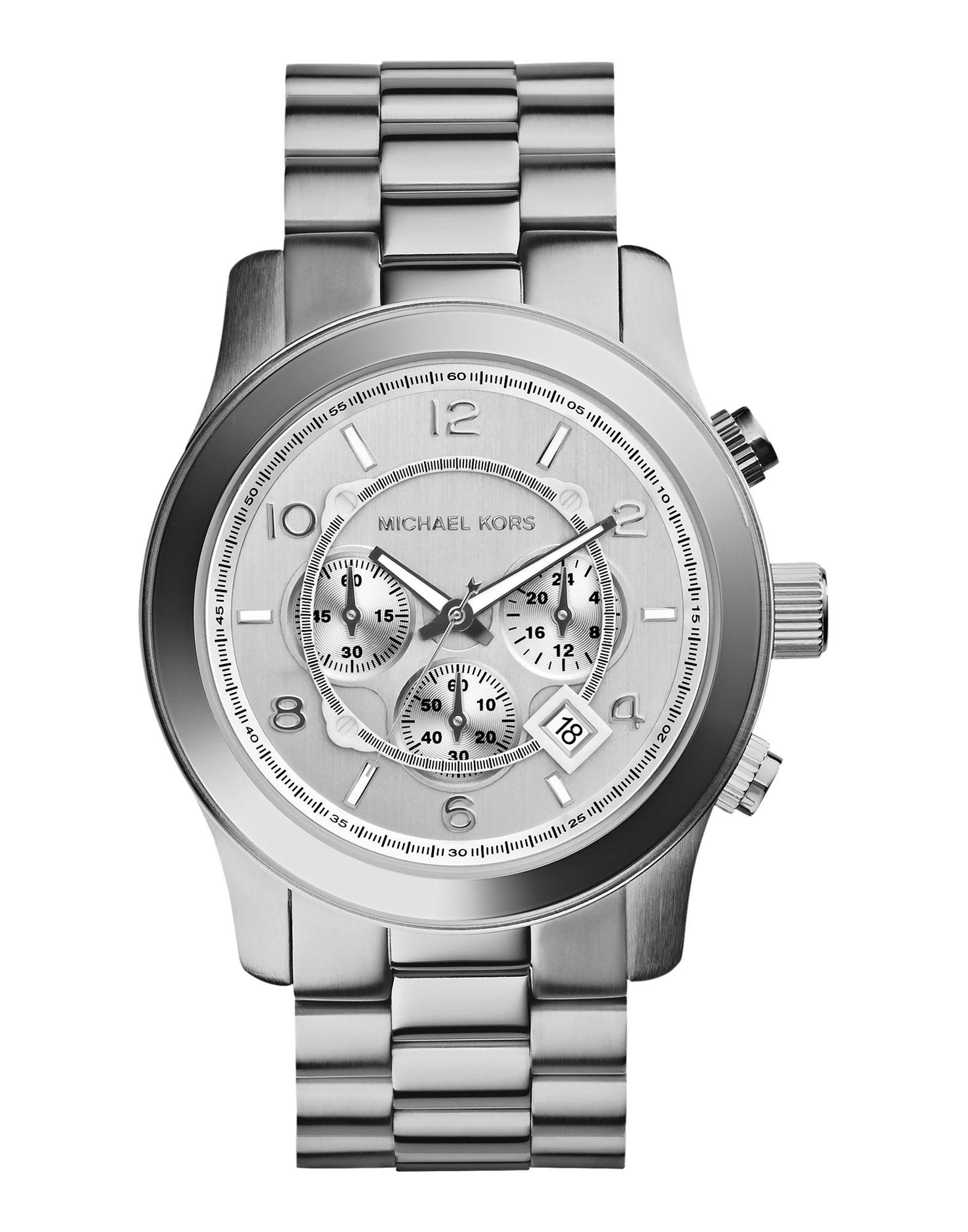 メンズ マイケル コース 腕時計 シルバー